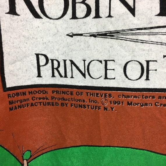 Made 1991 T 90's Action Thieves USA Kevin in Rare NY Fun Prince Creek Vintage Drama shirt Morgan Costner Robin Stuff Hood Of Film Movie YwSZqfI