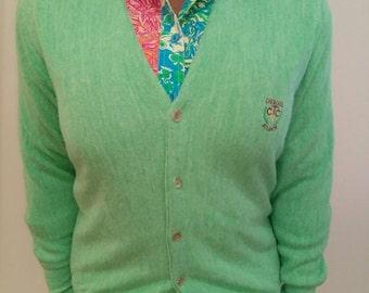 Vintage Green Cardigan
