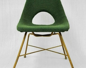 Czech vintage fiberglass chair from the 60's.