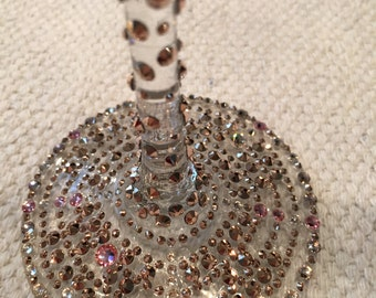 Gorgeous Rose Gold Champagne Flutes