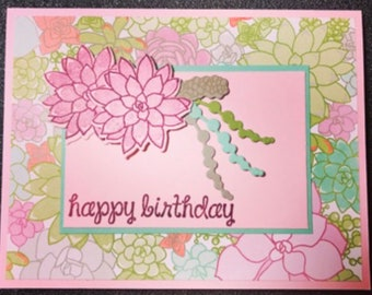 Stampin' Up! Birthday Card