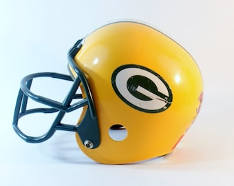 Franklin Helmet Green Bay Packers Uniform Nfl Sports Football Youth Jersey Kids Outfit Costume Plastic Decorative Childs