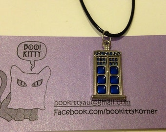 Doctor Who - Tardis Pendant Necklace
