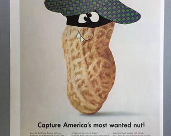1966 Skippy Peanut Butter Print Ad  - Vintage Food Ad