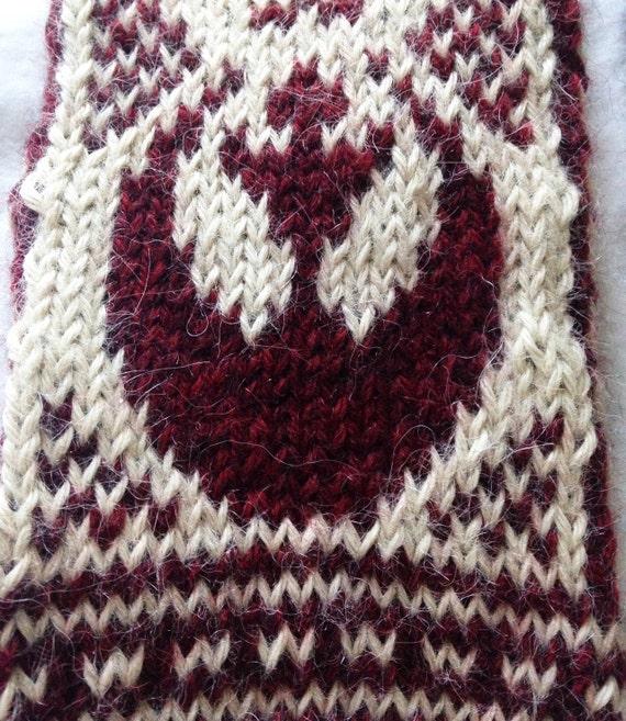 Knitting Pattern Star Wars Tfa Rebel Alliance Mittens From Faserkind