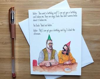 Funny ben stiller birthday card happy birthday cards ben the dude birthday card the dude 90s pop culture movies funny birthday card bookmarktalkfo Gallery