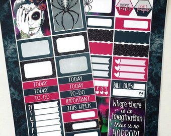 Pick Your Poison * NON-FOILED PERSONAL Sized Planner Sticker