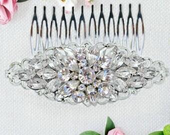 Bridal Hair Comb,  Wedding Hair Clip, Bridal decorative comb, crystal comb, wedding hair accessories, affordable bridal hair comb or clip