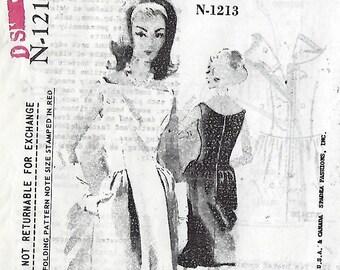 """Spadea Designer Pattern Mollie Parnis N-1213  Size 12  Bust 35""""  UNCUT"""