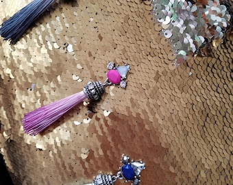 Tassel Bling Earrings