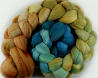 Treasure 1 merino wool top for spinning and felting - 4.2 ounces