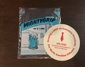 Vintage Lewtan Mighty Grip/Mightygrip Rubber Jar Opener Versatile Tool