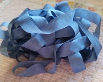 Dusk Blue Vintage Seam Binding