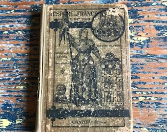 1920s French History Book - Histoire de France / Cours Moyen