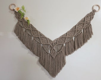 Ardene in Natural // Medium Macrame Hanging // Wall Tapestry // Unique Handmade Gift // READY TO SHIP