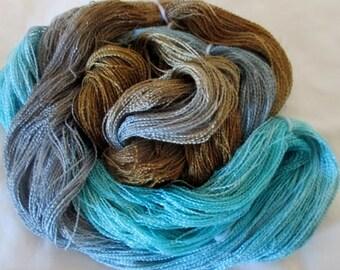 Hand dyed Tencel Yarn - 900 yds. Lace Wt. Tencel Yarn  NORO