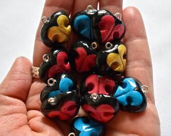 Dog Nose, Dog Necklace, Dog Keychain, Dog Lover Gift, Gifts for Dog Lovers, Dog Mom, Pet Memorial, Heart Necklace, Pet Loss Gifts, Dog Gifts