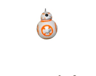BB-8 Brooch / Pin ~ Star Wars The Force Awakens ~ Geek Geeky Girl