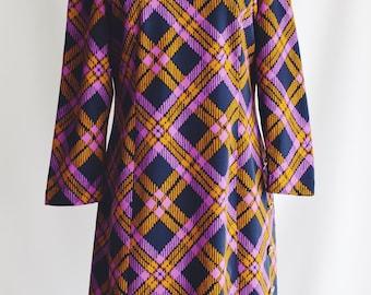 Dress 60s pictures Morado-Amarillo