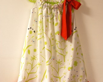 Dress gathered for 5-year-old girl