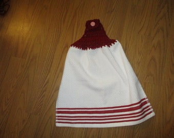 Crochet Topper Towel 3