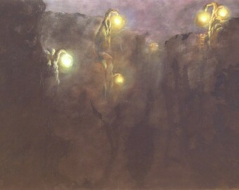 The Light Tree Series - Print - Oil Painting