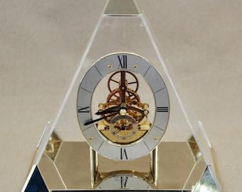 SEIKO PYRAMID Quartz Clock ~ QAW109G
