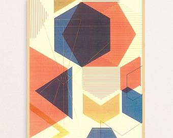 Geometric Art Print 2