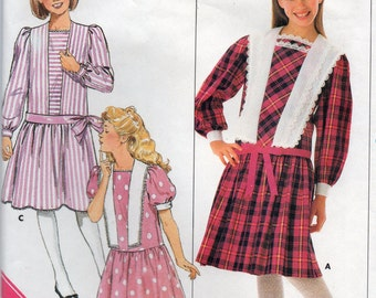 Butterick 4060 Girl's Dress Size 12-14 Uncut Pattern