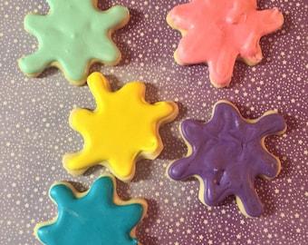 Paint Splatter Cookies (2 dozen)