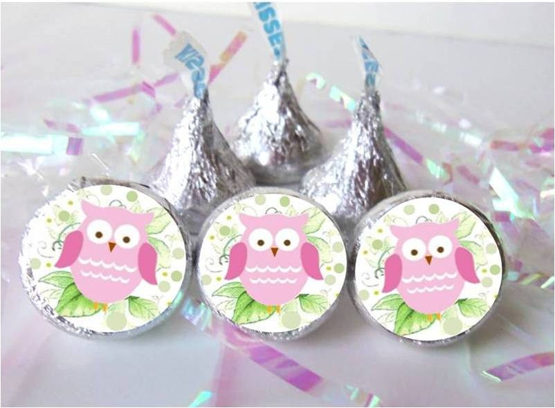 Owl Baby Shower Favors Pink Girl Decorations Birthday Party