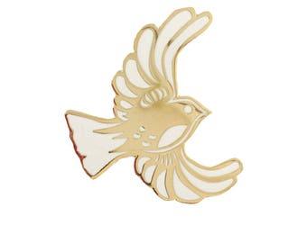 Bird Enamel Pin *Gold*