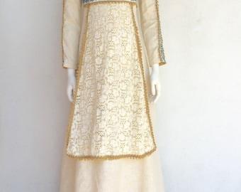 1960s Black Label Gunne Sax Dress