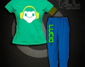Overwatch-Lucio Pajamas Set
