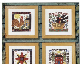 Welcome Home by Prairie Schooler Counted Cross Stitch Pattern/Chart