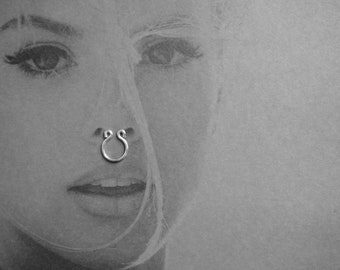FAUX septum ring.