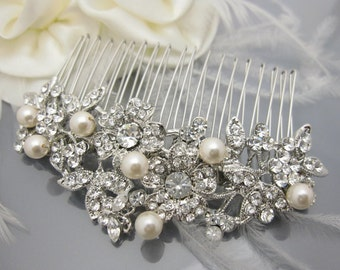 Wedding hair comb bridal headpiece wedding hair accessory bridal hair comb wedding jewelry bridal accessory wedding haircomb bridal comb