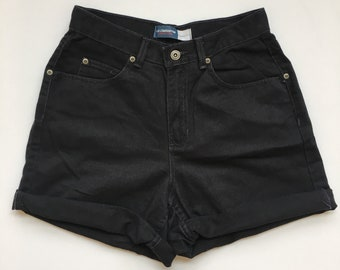 Vintage Mom Jean High Waist Denim Shorts