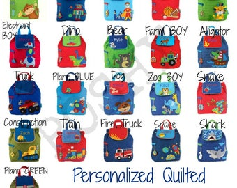 Personalized Kids backpack- Toddler Backpack -Monogrammed Toddler Backpack