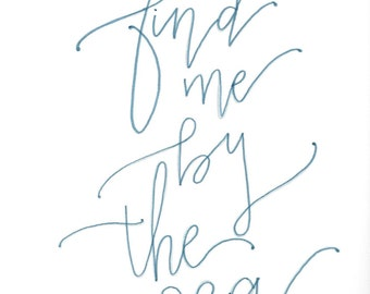 Catch me by the Sea Printable