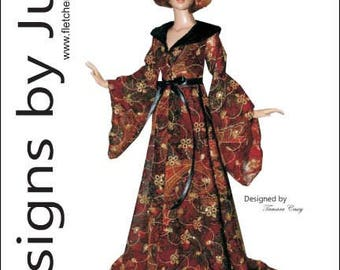 """PDF All Hallows Eve Robe Pattern for 16"""" Tyler Tonner"""