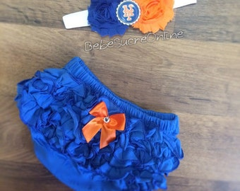 NY Mets Bloomers and Headband