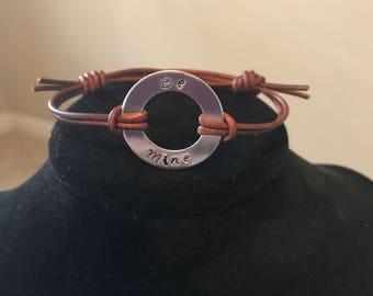 Be Mine Washer Bracelet