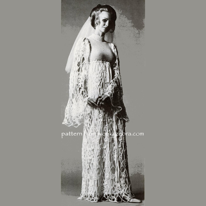 Crochet Dress Pattern PDF 174 Vogue Wedding Dress From