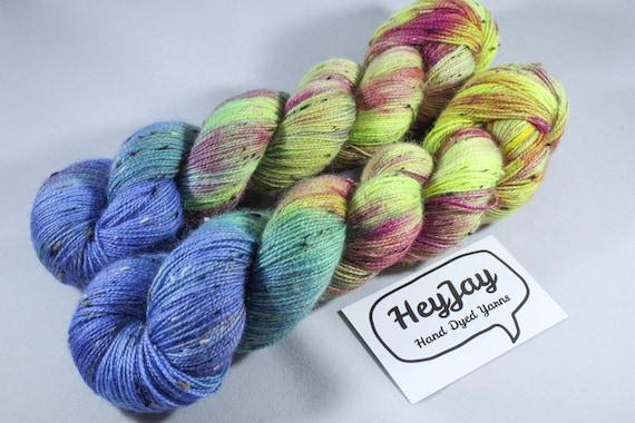 Donegal Tweed Sock Yarn - BFL - Ringleader