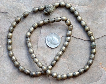 Old Nickel Silver Beads