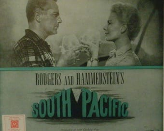 Bali Ha'I, sheet music from Musical South Pacific by Oscar Hammerstein II, Richard Rodgers 1949, good shape, Rossano Brazzi, Mitzi Gaynor