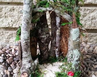 Fairy Garden House, Fairy Garden House, Fairy House, Terrarium House, Gnome House, Terrarium Kit, Miniature Fairy House, Fairy Garden Home