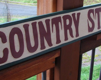 Country Store sign