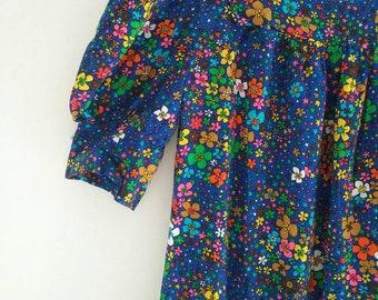vintage maxi 70s dress